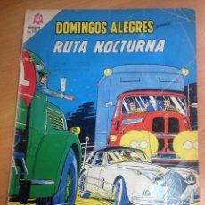 Tebeos: DOMINGOS ALEGRES EXTRAORDINARIO Nº 582 RUTA NOCTURNA MICHEL VAILLANT PERSONAJE EDITORIAL LOMBARD . Lote 128448811