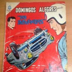 Tebeos: DOMINGOS ALEGRES EXTRAORDINARIO Nº612 LOS INTREPIDOS MICHEL VAILLANT PERSONAJE EDITORIAL LOMBARD . Lote 128449347