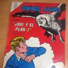 Tebeos: DOMINGOS ALEGRES EXTRAORDINARIO Nº608 JARI Y EL PLAN Z PERSONAJE EDITORIAL LOMBARD . Lote 128449623