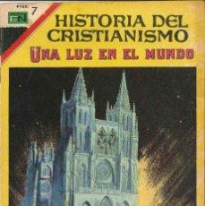 Tebeos: HISTORIA DEL CRISTIANISMO NÚMERO 19 UNA LUZ EN EL MUNDO EDITORIAL NOVARO. Lote 128509751