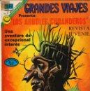 Tebeos: GRANDES VIAJES NÚMERO 116 LOS ÁRBOLES CURANDEROS EDITORIAL NOVARO. Lote 128517951
