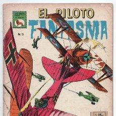 Tebeos: EL PILOTO FANTASMA # 15 LA PRENSA NOVARO 1965 VACACIONES DE UN FANTASMA EXCELENTE ESTADO DE EDITORIA. Lote 128591039