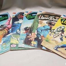 Tebeos: LOTE DE 5 COMICS, EL LLANERO SOLITARIO, EDICIONES NOVARO. Lote 128607251