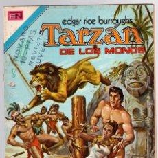Tebeos: TARZAN DE LOS MONOS. EDGAR RICE BURROUGHS. Nº 383. UN CRUEL AUGURIO. 31 DE ENERO DE 1974. Lote 128624904
