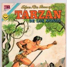 Tebeos: TARZAN DE LOS MONOS. EDGAR RICE BURROUGHS. Nº 314. LA REINA KARELIA. 5 DE OCTUBRE DE 1972. Lote 128625207
