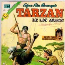 Tebeos: TARZAN DE LOS MONOS. EDGAR RICE BURROUGHS. Nº 305. EL DIAMANTE DE RHODESIA. 3 DE AGOSTO DE 1972. Lote 128625659