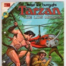 Tebeos: TARZAN DE LOS MONOS. EDGAR RICE BURROUGHS. Nº 355. LOS CAZADORES PERVERSOS. 19 DE JULIO DE 1973. Lote 128626382