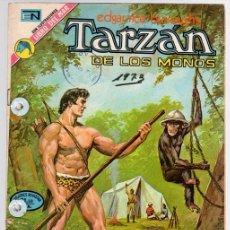 Tebeos: TARZAN DE LOS MONOS. EDGAR RICE BURROUGHS Nº 351. CIRCO EN LA SELVA. 21 DE JUNIO DE 1973. Lote 128627083