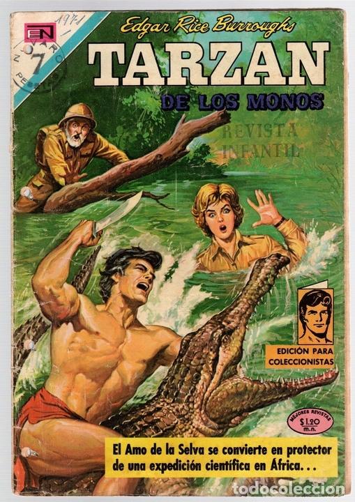TARZAN DE LOS MONOS. EDGAR RICE BURROUGHS Nº 271. EL ECLIPSE DE LUNA. 24 DE JUNIO DE 1971 (Tebeos y Comics - Novaro - Tarzán)