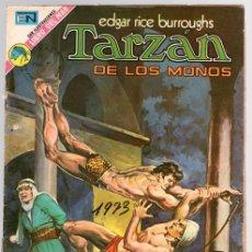 Tebeos: TARZAN DE LOS MONOS. EDGAR RICE BURROUGHS Nº 347. LA GARGANTA DEL DIABLO. 24 DE MAYO DE 1973. Lote 128627411