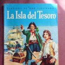 Tebeos: TEBEOS. LA ISLA DEL TESORO. ED. NOVARO, CLÁSICOS DE ORO, ILUSTRADO, Nº 1, NOVARO.. Lote 128641011