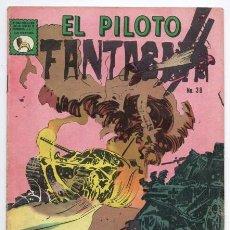 Tebeos: EL PILOTO FANTASMA # 38 LA PRENSA NOVARO 1967 LOS FALSOS TIGRES EXCELENTE ESTADO DE EDITORIAL. Lote 128673803