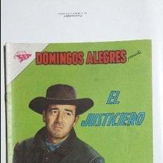 Tebeos: EL JUSTICIERO! - DOMINGOS ALEGRES N° 415 - ORIGINAL EDITORIAL NOVARO. Lote 128676583