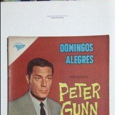 Tebeos: PETER GUNN - DOMINGOS ALEGRES N° 414 - ORIGINAL EDITORIAL NOVARO. Lote 128676667