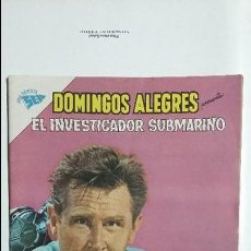 Tebeos: EL INVESTIGADOR SUBMARINO - DOMINGOS ALEGRES N° 392 - ORIGINAL EDITORIAL NOVARO. Lote 128676751