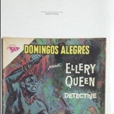 Tebeos: ELLERY QUEEN DETECTIVE - DOMINGOS ALEGRES N° 474 - ORIGINAL EDITORIAL NOVARO. Lote 128676943