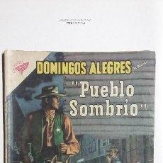 Tebeos: DOMINGOS ALEGRES N° 331 - PUEBLO SOMBRÍO - ORIGINAL EDITORIAL NOVARO. Lote 128692587