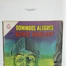Tebeos: BORIS KARLOFF - DOMINGOS ALEGRES N° 609 - ORIGINAL EDITORIAL NOVARO. Lote 128692879