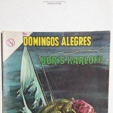 Tebeos: BORIS KARLOFF - DOMINGOS ALEGRES N° 510 - ORIGINAL EDITORIAL NOVARO. Lote 128693035