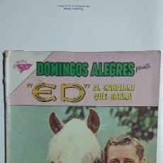 Tebeos: ED, EL CABALLO QUE HABLA - DOMINGOS ALEGRES N° 487 - ORIGINAL EDITORIAL NOVARO. Lote 128693207