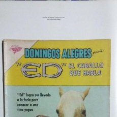 Tebeos: ED, EL CABALLO QUE HABLA - DOMINGOS ALEGRES N° 469 - ORIGINAL EDITORIAL NOVARO. Lote 128693331