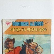 Tebeos: JUAN EL PLATEADO - DOMINGOS ALEGRES N°398 - ORIGINAL EDITORIAL NOVARO. Lote 128693491