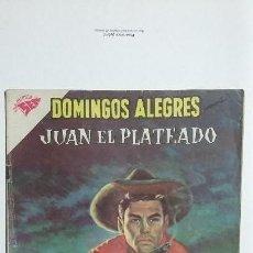 Tebeos: JUAN EL PLATEADO - DOMINGOS ALEGRES N° 372 - ORIGINAL EDITORIAL NOVARO. Lote 128693583