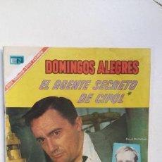 Tebeos: DOMINGOS ALEGRES N° 680 - EL AGENTE SECRETO DE C.I.P.O.L. - ORIGINAL EDITORIAL NOVARO. Lote 128742215