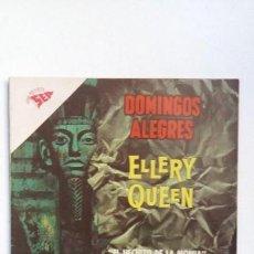 Tebeos: ELLERY QUEEN - DOMINGOS ALEGRES N° 428 - ORIGINAL EDITORIAL NOVARO. Lote 128742643