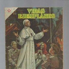 BDs: VIDAS ELEMPLARES 48: SU SANTIDAD PIO XII, PONTIFICE DE LA PAZ, 1958, NOVARO. Lote 128924819