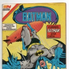 Tebeos: BATMAN # 1245 NOVARO AGUILA 1984 GERRY CONWAY & KUPPERBERG ASESINO CELESTE EXCELENTE DE EDITORIAL. Lote 128941659