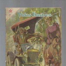 Tebeos: VIDAS ILUSTRES 32: HISTORIA DE HENRY FORD, 1958, NOVARO. Lote 128950783