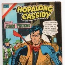 Tebeos: HOPALONG CASSIDY # 255 NOVARO AGUILA 1975 WILLIAM BOYD JUAN TRUENO EL GAVILAN MULFORD IMPECABLE. Lote 129117207