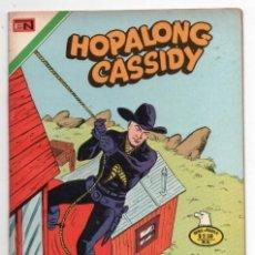Tebeos: HOPALONG CASSIDY # 257 NOVARO AGUILA 1976 WILLIAM BOYD LA LEYENDA DE DANIEL BOONE MULFORD IMPECABLE. Lote 129117235