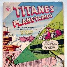Tebeos: TITANES PLANETARIOS Nº 146. LA ISLA EN EL CIELO.. Lote 129186347