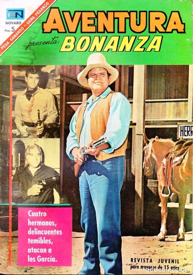 AVENTURA BONANZA Nº 475 (Tebeos y Comics - Novaro - Aventura)
