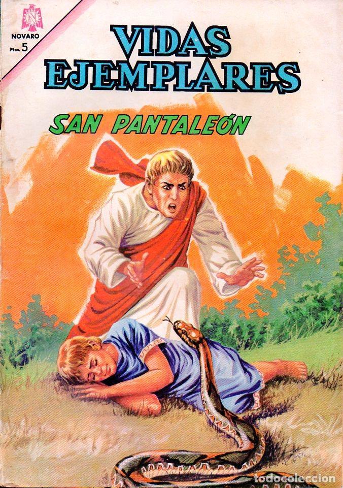 VIDAS EJEMPLARES Nº 219 - SAN PANTALEÓN (Tebeos y Comics - Novaro - Vidas ejemplares)