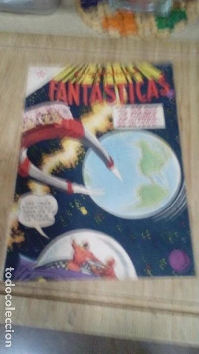HISTORIAS FANTASTICAS Nº 24 MUY DIFICIL (Tebeos y Comics - Novaro - Sci-Fi)
