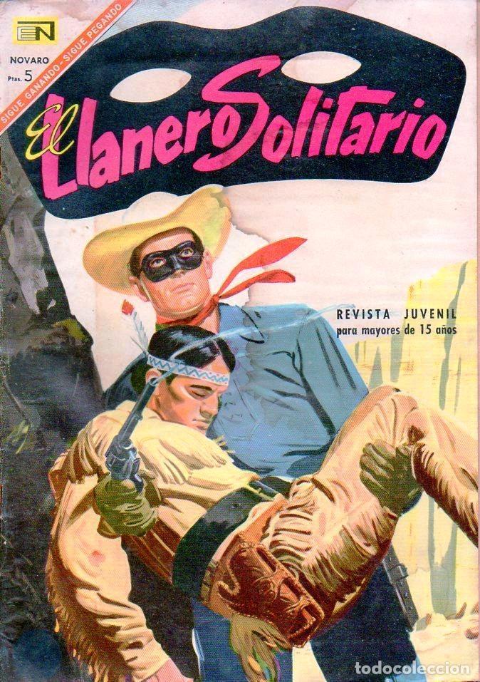 EL LLANERO SOLITARIO Nº 169 (Tebeos y Comics - Novaro - El Llanero Solitario)