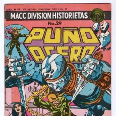 Tebeos: PUÑO DE ACERO # 29 MACC DIVISION 1975 MISTY KNIGHT TIPO NOVARO MARVEL KUNG FU IRON FIST # 21 IMPECAB. Lote 129312455