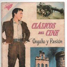 Tebeos: CLASICOS DEL CINE # 33 ORGULLO Y PASION CARY GRANT FRANK SINATRA & SOPHIA LOREN MUY BUEN ESTADO. Lote 129333003