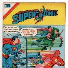 Tebeos: SUPERCOMIC # 107 NOVARO AGUILA 1976 SUPERMAN BATMAN FLASH FLECHA VERDE CANARIO NEGRO IMPECABLE. Lote 129483047