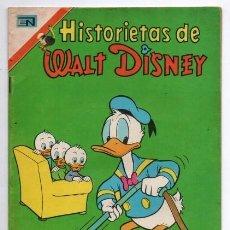 Tebeos: HISTORIETAS DE WALT DISNEY # 1 NOVARO AVESTRUZ 1975 MICKEY DONALD CHIP & DALE TUNO IMPECABLE DE EDIT. Lote 129565299