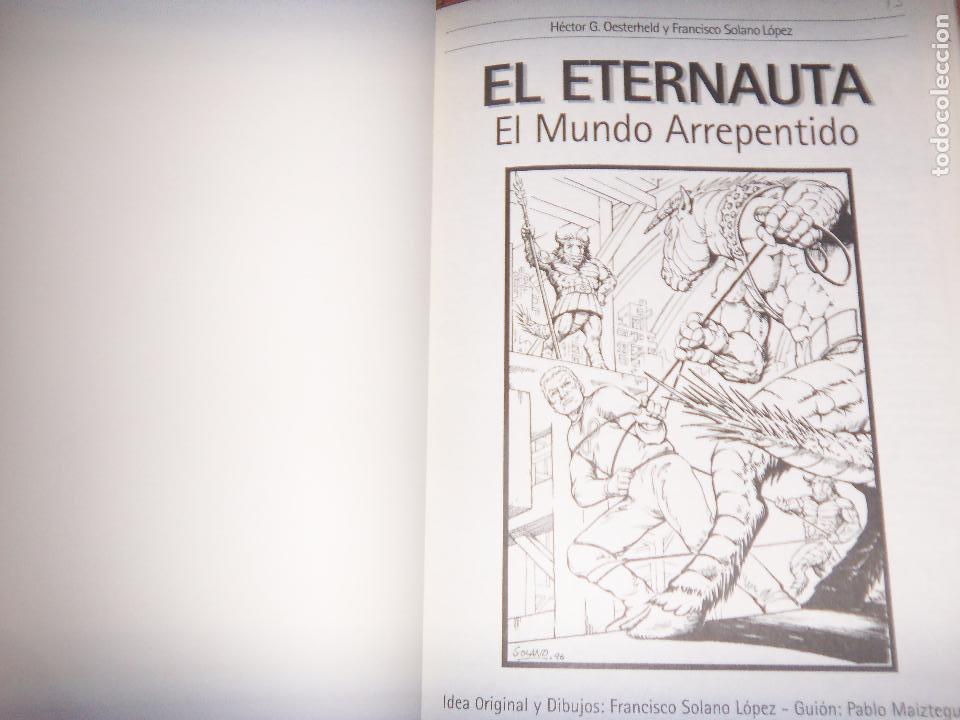 Tebeos: EL ETERNAUTA, OESTERHELD NUEVAS HIST. SOLANO LOPEZ-NUEVAS HISTORIAS - Foto 2 - 129672127