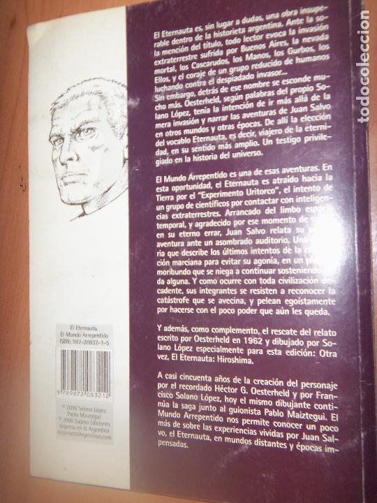 Tebeos: EL ETERNAUTA, OESTERHELD NUEVAS HIST. SOLANO LOPEZ-NUEVAS HISTORIAS - Foto 7 - 129672127