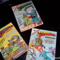 Tebeos: SUPERMAN NOVARO. COLECCIÓN SUPERCÓMIC. NÚMEROS 1, 2 Y 3. DE 1967-OFERTA. Lote 129672935