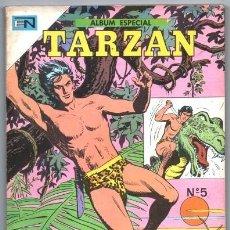 Tebeos: TARZAN ALBUM # 5 NOVARO 1987 IMPECABLE ESTADO DE EDITORIAL 128 PAG EL DESIERTO DE LOS ESPINOS Y OTRA. Lote 129882591