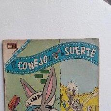 Tebeos: EL CONEJO DE LA SUERTE N° 284 - ORIGINAL EDITORIAL NOVARO. Lote 130125015