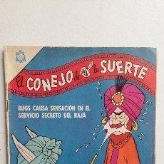 Tebeos: EL CONEJO DE LA SUERTE N° 229 - ORIGINAL EDITORIAL NOVARO. Lote 130125203