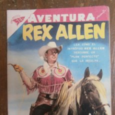 Tebeos: AVENTURA # 93 REX ALLEN SEA NOVARO MEXICO 1958. Lote 130207867